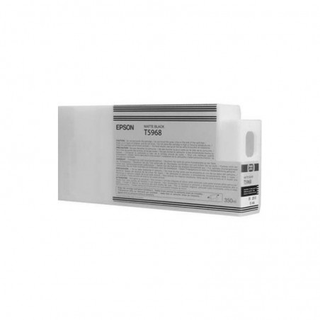 Cartouche Epson encre pigment Noir Mat SP 7700/9700/7900/9900/7890/9890 (350ml)