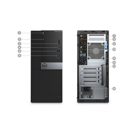Ordinateur de bureau Dell Optiplex 5050 MT (N008O5050MT02)