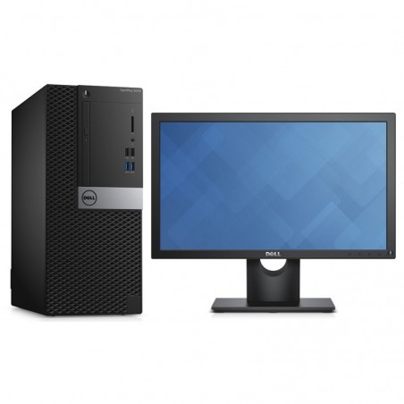 Ordinateur de bureau Dell OptiPlex 5040 MT + Ecran 19""