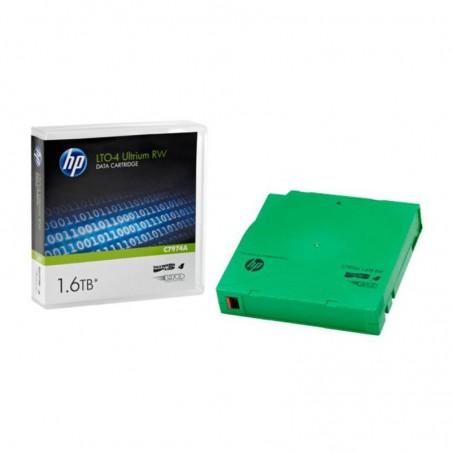 Bande de sauvegarde HP LTO-4 Ultrium 1,6 TB RW réinscriptible (C7974A)