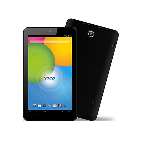 YooZ PhonePad P702 7 pouces Noir 8GB 3G Dual Sim 2MP