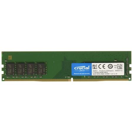 CRUCIAL RAM DDR4 PC BUREAU UDIMM (CT4G4DFS8266)